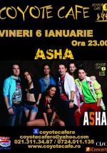Concert Asha în Coyote Cafe din Bucureşti