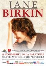 Concert Jane Birkin la Bucureşti