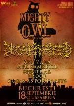 Mighty Owl Festival în Club Fabrica din Bucureşti