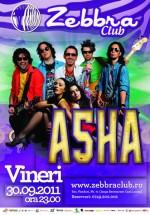 Concert Asha în Club Zebbra din Bucureşti