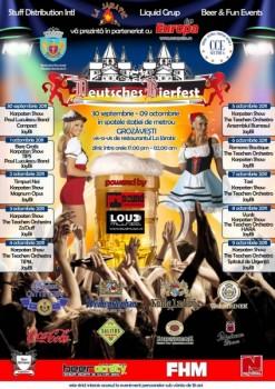 Deutsches Bierfest 2011 la Bucureşti