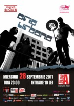 Concert Aria Urbana în Club A din Bucureşti