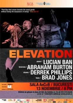 Concert Elevation la Sala ArCuB din Bucureşti