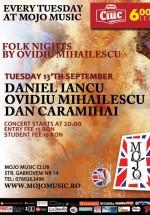 Folk Nights by Ovidiu Mihăilescu în Mojo Brit Room din Bucureşti