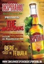 Concert The Amsterdams în Obsession Club din Cluj-Napoca