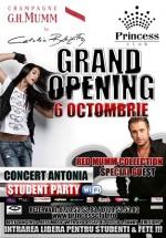 Concert Antonia în Princess Club din Bucureşti