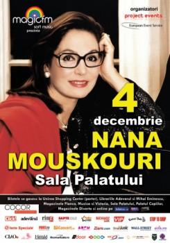 Concert Nana Mouskouri la Sala Palatului din Bucureşti