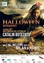 """Halloween Weekend"" în Club Bamboo din Bucureşti"