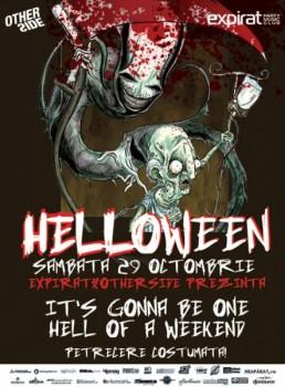 Halloween în Club Expirat & OtherSide din Bucureşti