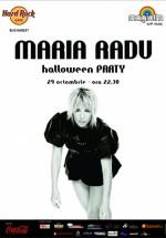 Halloween Party cu Maria Radu în Hard Rock Cafe din Bucureşti