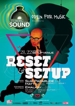 Tuborg Sound: Reset & Setup în Setup Venue din Timişoara