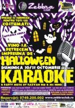 Halloween Karaoke în Zebbra Club din Bucureşti