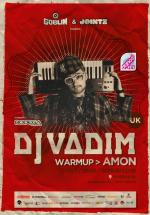 DJ Vadim în Club Goblin din Bucureşti