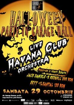 Halloween Party în Garage Hall din Bucureşti