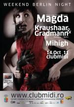 Magda în Club Midi din Cluj-Napoca