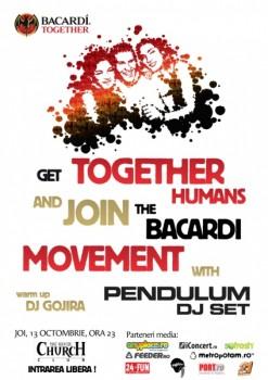 Pendulum (DJ set) în The Silver Church din Bucureşti