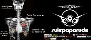 Concert Suie Paparude în Club Wings din Bucureşti