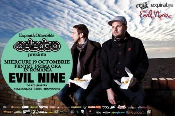 Evil Nine la Selectro în Club Expirat din Bucureşti