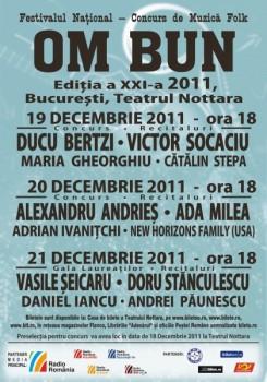 """Festivalul de muzică folk """"Om Bun"""" 2011"""