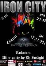 Concert Blind Spirits în Iron City din Bucureşti