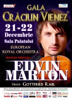 Edvin Marton – Gala Crăciun Vienez la Sala Palatului din Bucureşti