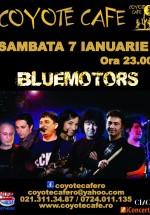Concert Bluemotors în Coyote Cafe din Bucureşti