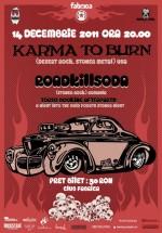 Concert Karma To Burn în Club Fabrica din Bucureşti