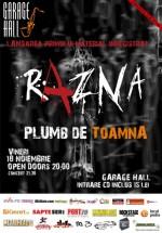 Concert Razna în Garage Hall din Bucureşti