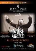 Concert Mike Godoroja & Blue Spirit în Joy Pub din Bucureşti
