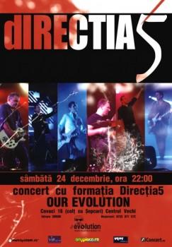Concert dIRECŢIA 5 în Our Evolution din Bucureşti