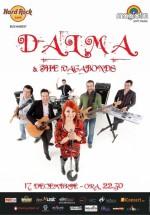 Concert Dalma & The Vagabonds în Hard Rock Cafe din Bucureşti