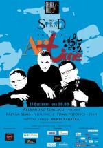 Concert Trio Strad în Garage Hall din Bucureşti
