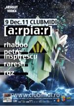 Rhadoo, Pedro şi Raresh [a:rpia:r] în Club Midi din Cluj-Napoca