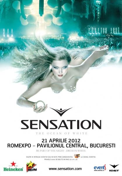 "Bilete Sensation ""The Ocean of White"" la Bucureşti"
