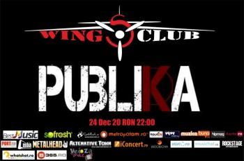 Concert Publika în Club Wings din Bucureşti