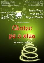 Concert de colinde Corul de băieţi Heart-Core la Bucureşti