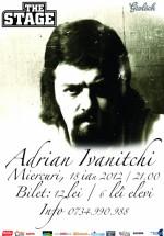 Concert Adrian Ivanitchi în The Stage din Bacău