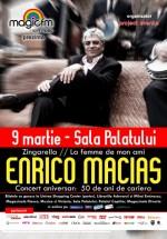 Concert Enrico Macias la Sala Palatului din Bucureşti