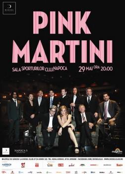Concert Pink Martini la Sala Sporturilor din Cluj-Napoca