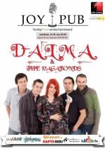 Dalma & The Vagabonds în Joy Pub din Bucureşti