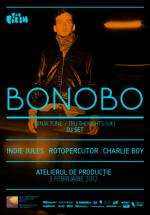 Bonobo în Atelierul de Producţie din Bucureşti