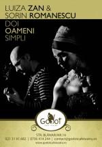 Luiza Zan şi Sorin Romanescu la Godot Cafe-Teatru Bucureşti