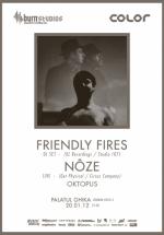 Friendly Fires şi Nôze la Palatul Ghika din Bucureşti