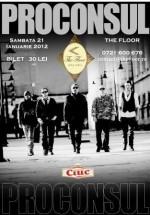 Concert Proconsul în Club The Floor din Bucureşti