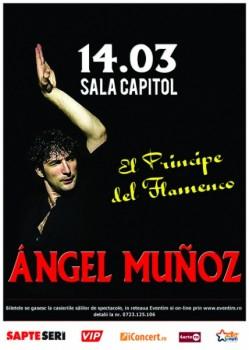 """""""El principe del flamenco"""" cu Angel Muñoz la Filarmonica Banatul din Timişoara"""