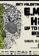 Anti Valentine's Party în Club Fabrica cu E.M.I.L, H8, Up to Eleven şi Ska-nk