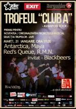 Antarctica, Maya, Red's Queue şi RMN în Club A din Bucureşti