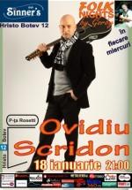 Concert Ovidiu Scridon în Club Sinner's din Bucureşti