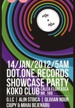 Dot One Records Afterhours Showcase în Koko Club  Bucureşti