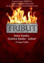Concert Tribut în Club Ageless din Bucureşti